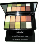 Paleta Nyx Eye Shadow ESP10C08 10 Colors Versus