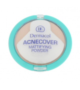 Dermacol Acnecover Mattifying Powder Honey