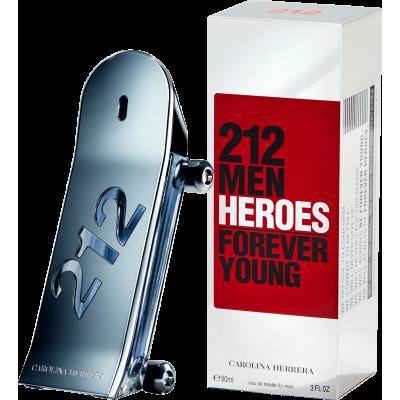 Carolina Herrera 212 Men Heroes Eau de Toilette - Perfume Masculino 90ml