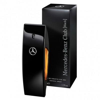 Mercedes Benz BLACK Perfume Masculino - Eau de Toilette - 50ml