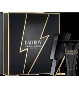 Kit Carolina Herrera Bad Boy Eau de Toilette - Perfume 100ml + Gel de Banho