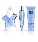 Mugler Kit Angel 50ml +50ml Creme +10ml perfume feminino