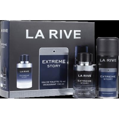 Extreme Story La Rive Masculino - Eau de Toilette 75ml + Desodorante 150ml