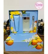 Light Blue Trio Dolce & Gabbana Feminino - Eau de Toilette 100ml + Creme Corporal 75ml + Travel Size 10ml