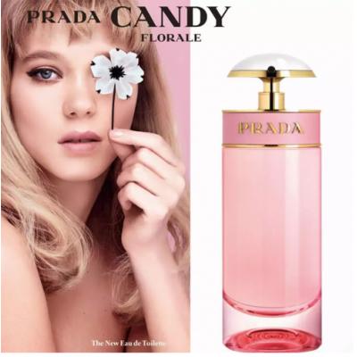 Prada Candy Florale Eau de Toilette - Perfume Feminino 80ml
