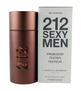 Carolina Herrera - 212 Sexy Men Perfume Masculino EDT 100ML tester