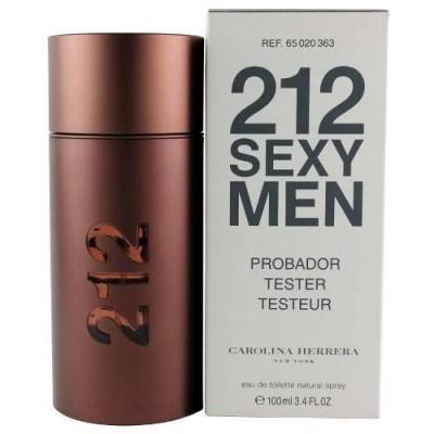 Carolina Herrera - 212 Sexy Men Perfume Masculino EDT 100ML tester